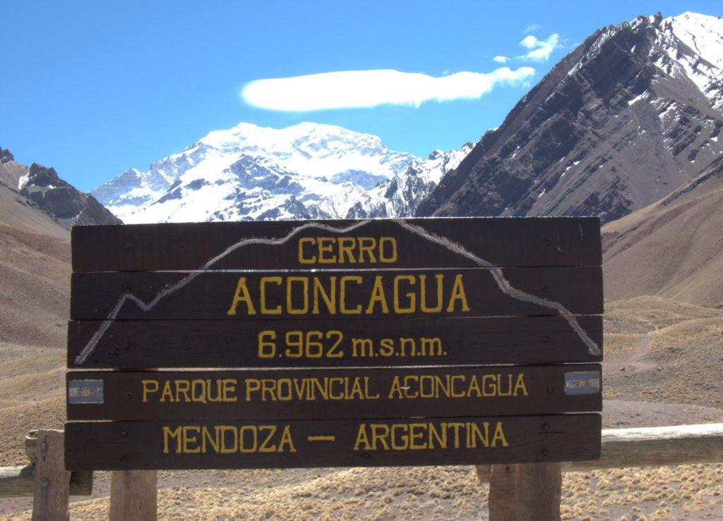 Aconcagua's ever changing lenticular cloud