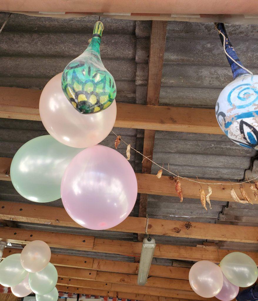 Birthday balloons for Susan