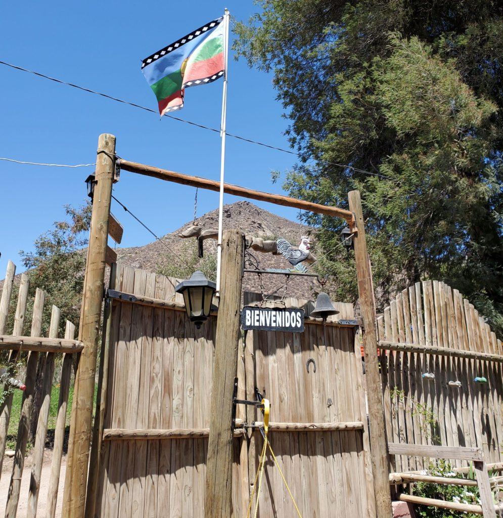 Hostal Berta gate