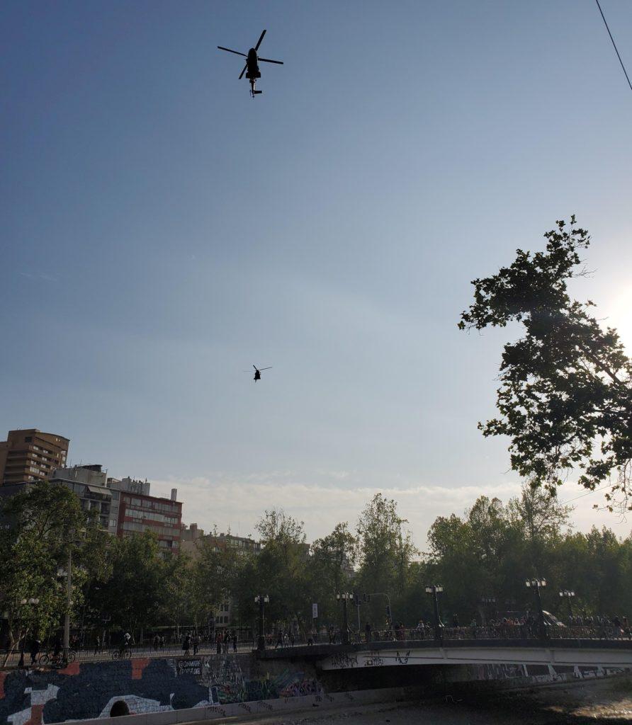 Plaza Italia clashes