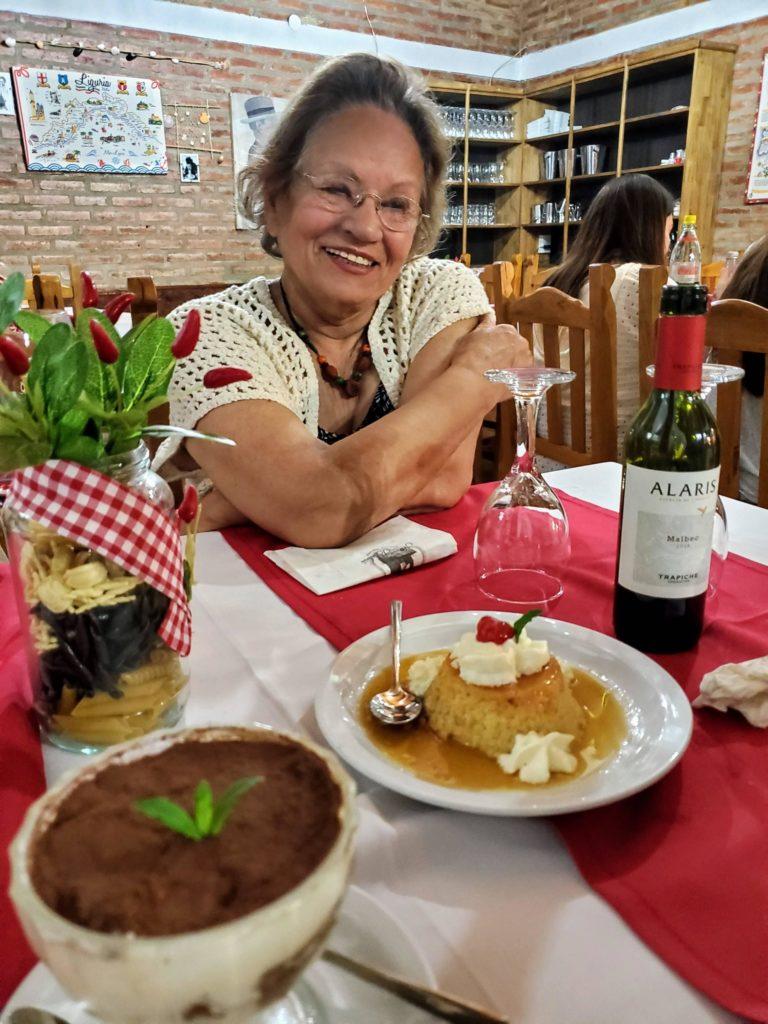 Nonna Bertina restaurant, Santa Rosa de Calamuchita, Argentina