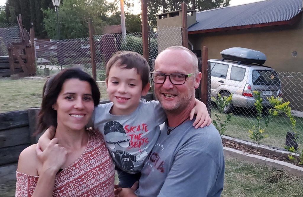 Yanina, Dante, Chris (Vera unavailable), Cabañas Kangarú