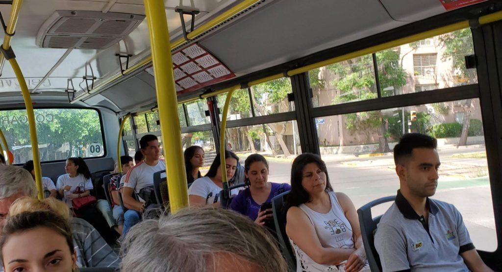 Mendoza, Argentina city bus