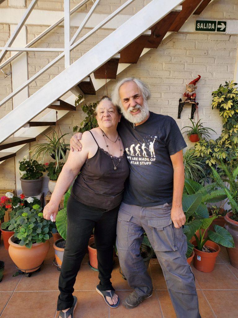 Ines and John