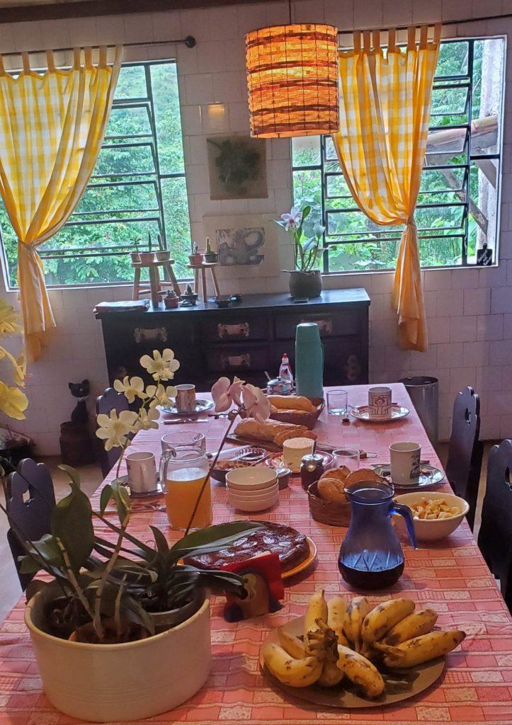 Breakfast at Fazenda dos Cordeiros